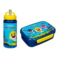 Baby Shark Lunchset - Broodtrommel en Drinkfles