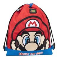 Super Mario Bros Gymtas / Zwemtas Rood - Nintendo