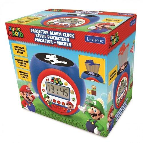 Super Mario Bros Super Mario Bros Projectie Wekker met Timer - Nintendo