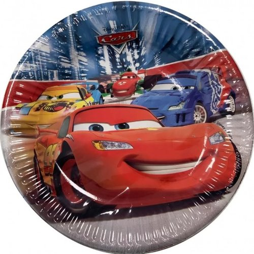 Cars Disney Cars Gebaksbordjes - 8 stuks