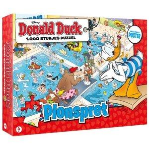 Donald Duck Donald Duck Puzzel - 1000 stukjes - Plonspret