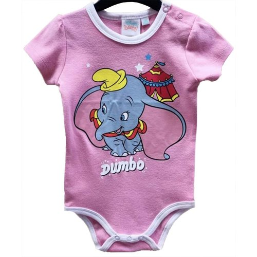Dombo Dombo Rompertje Roze Korte Mouw - Disney Baby