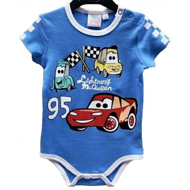 Disney Cars Rompertje Korte Mouw - Disney Baby