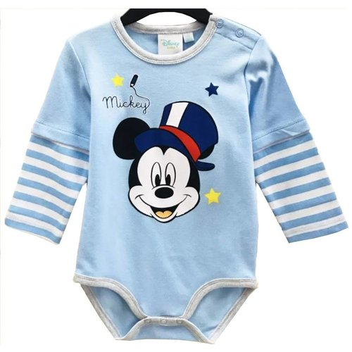 Mickey Mouse Mickey Mouse Rompertje Lange Mouw - Disney Baby
