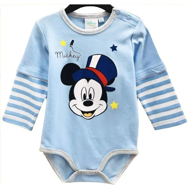 Mickey Mouse Rompertje Lange Mouw - Disney Baby