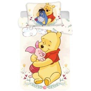 Winnie de Poeh Winnie de Poeh Baby Dekbedovertrek 100 x 135 cm - Together