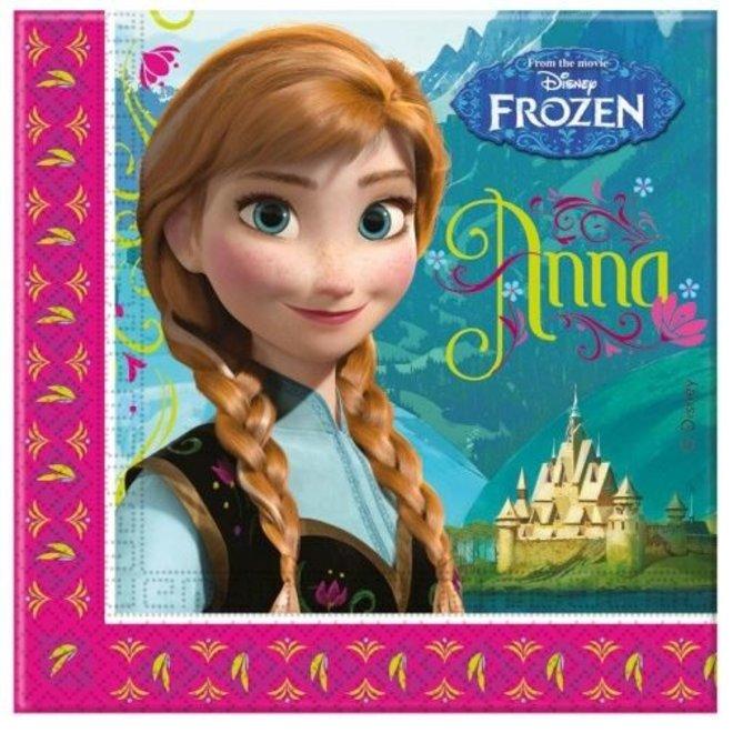 20 Disney Frozen Servetten - Classic