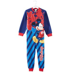 Mickey Mouse Mickey Mouse Pyjama / Onesie / Jumpsuit - Donker Blauw