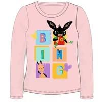 Bing Konijn Longsleeve Shirt - Zalm