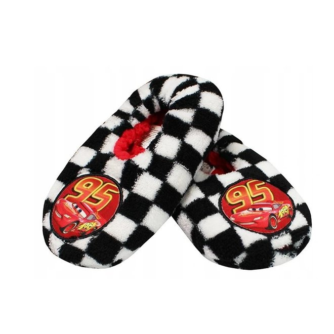Disney Cars Pantoffel Slofjes - Zwart/Wit