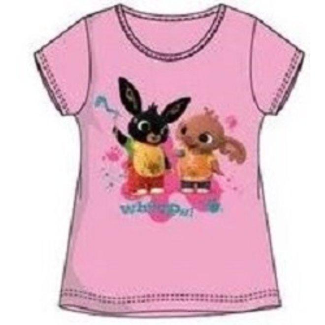 Bing Konijn T-shirt Roze - Bing en Sula