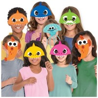 8 Baby Shark Maskers