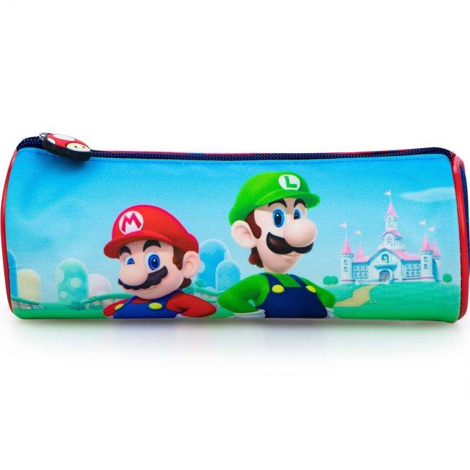 Super Mario Bros Etui - Luigi en Mario