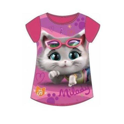 44 Cats 44 Cats T-shirt - Fuchsia