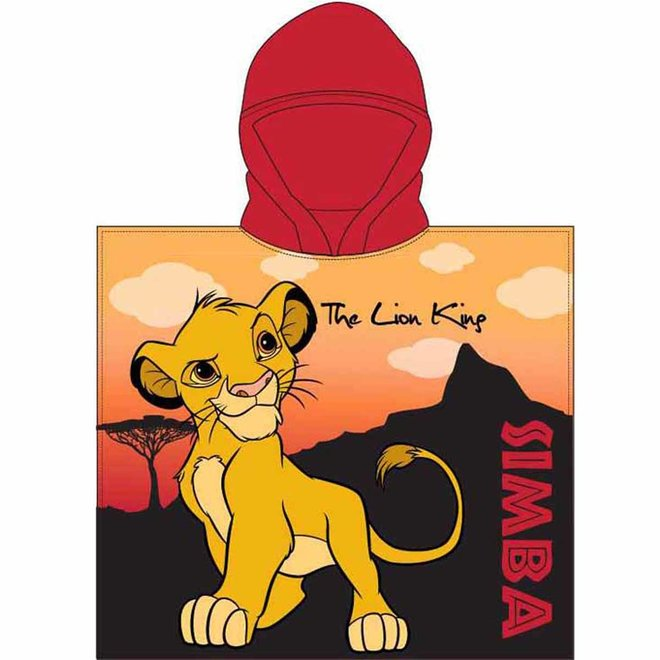 Lion King Badponcho - Sneldrogend