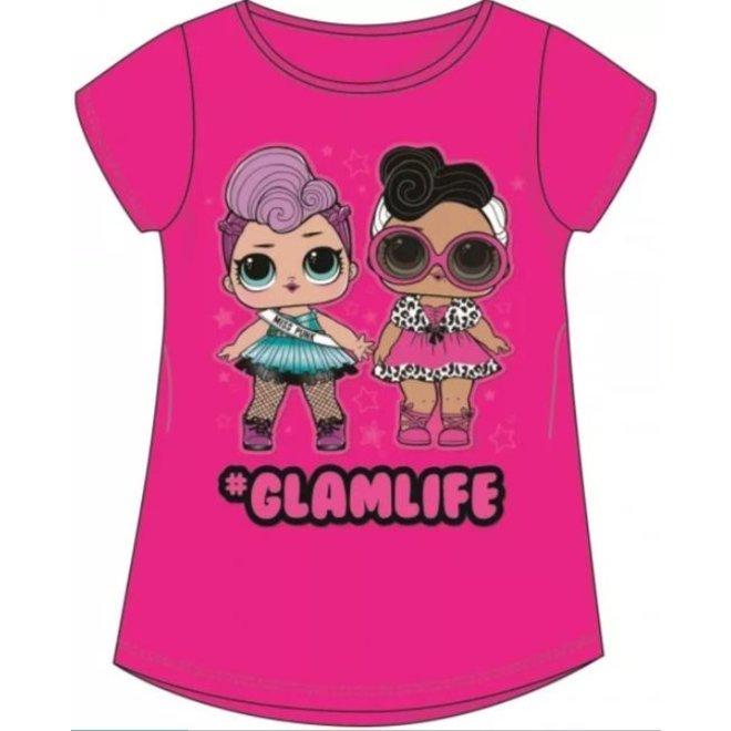 LOL Surprise T-shirt - Glamlife Fuchsia
