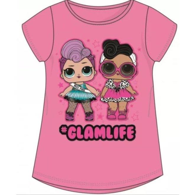 LOL Surprise T-shirt - Glamlife Roze