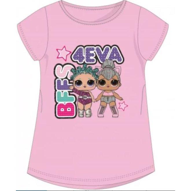 LOL Surprise T-shirt - BFFS Roze