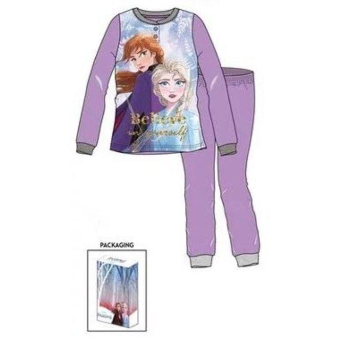 Disney Frozen Pyjama 2 Pyjama - Lila/Paars