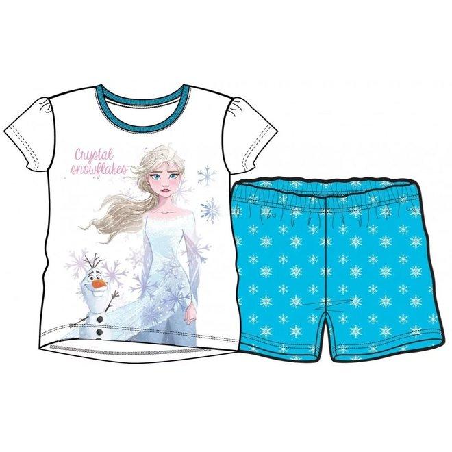 Disney Frozen Shortama - Wit/Blauw