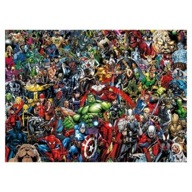 Avengers Puzzel Impossible - 1000 stukjes - Clementoni