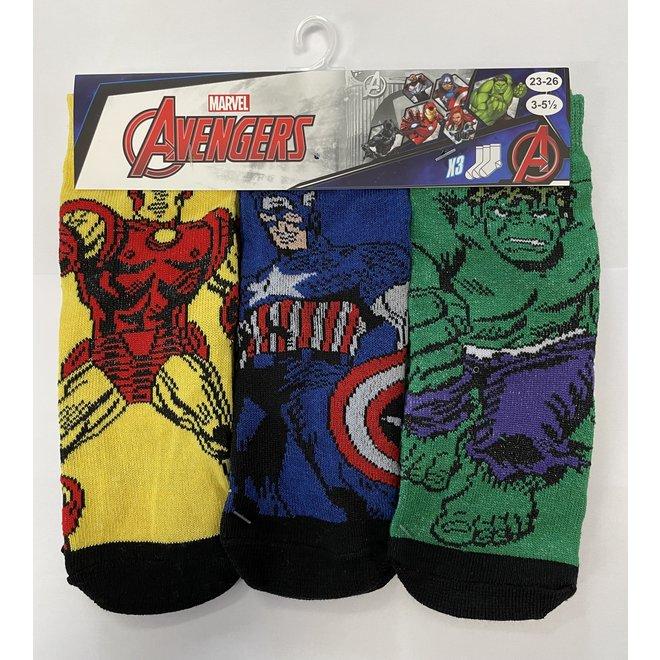 Avengers Sokken - 3 paar