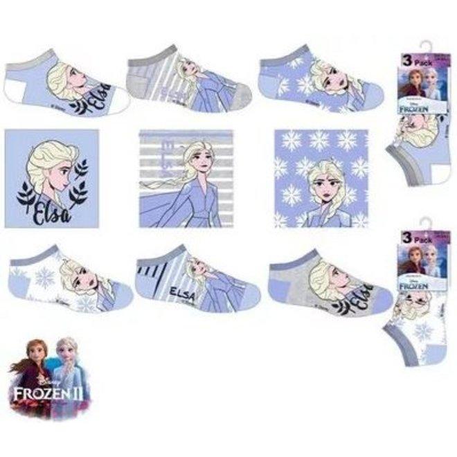 Disney Frozen Sneakersokken - 3 paar