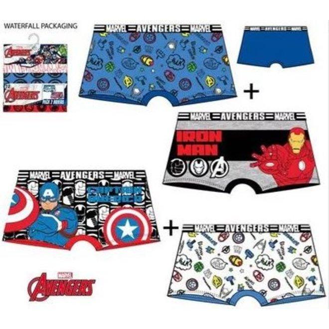 Avengers Boxershort (set van 2)