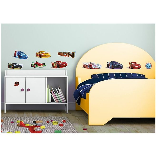 Disney Cars Muurstickers - 11 stuks