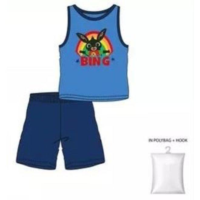 Bing Konijn Shortama / Zomerset - Blauw