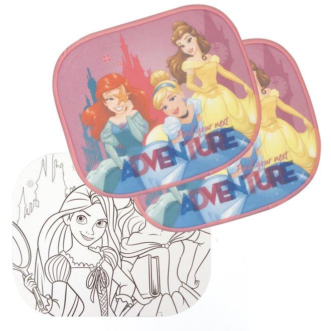 Disney Princess Auto Zonnescherm - 2 Stuks