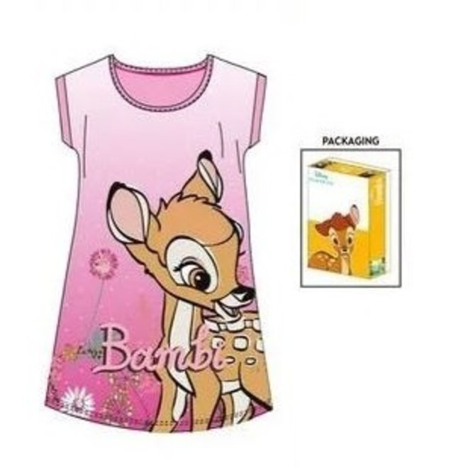 Bambi Nachthemd - Roze