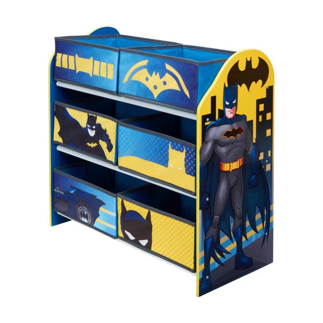 Batman Batmobiel Autobed Kamer B - 4 delig