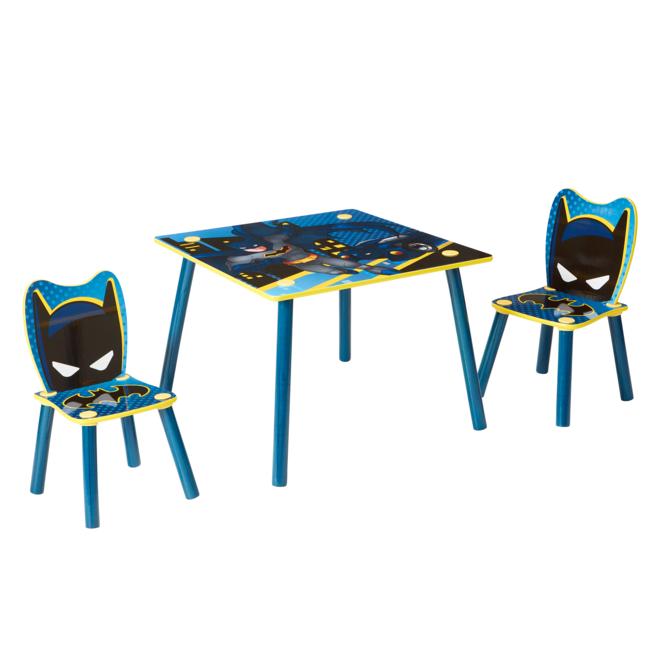 Batman Tafel met 2 Stoelen