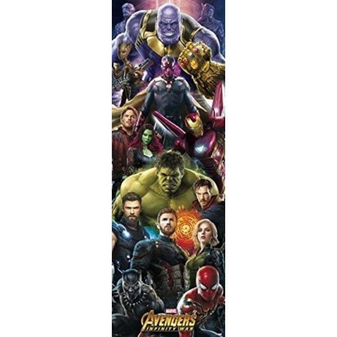 Avengers Infinity War Characters - Deurposter