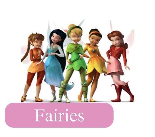 Fairies en Peter Pan