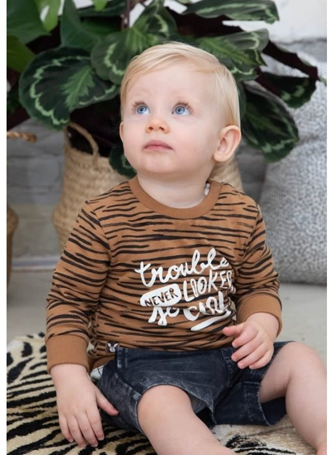 Born To Be Wild Broek Antraciet
