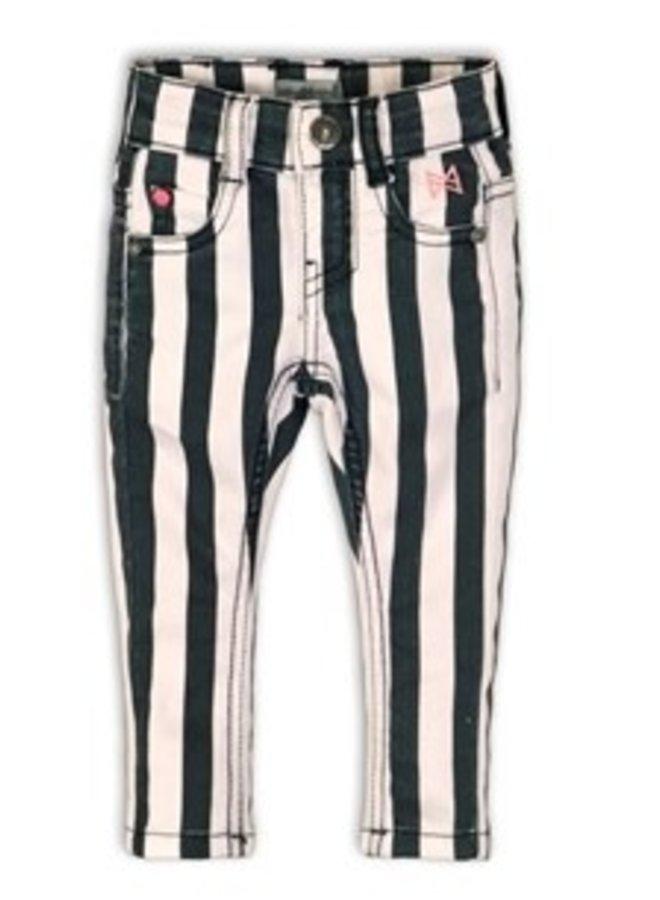 Broekje  Stripe Black
