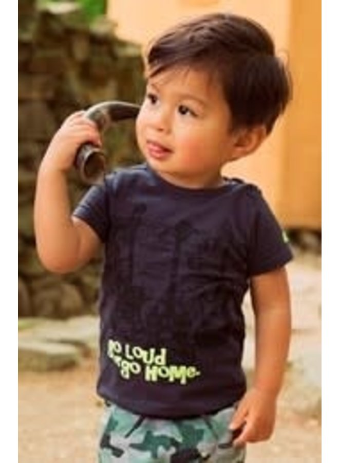 Baby Shirtje Dark Grey