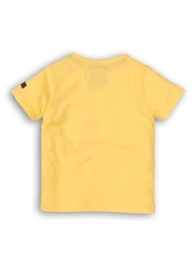 Shirtje Bananas Light Yellow