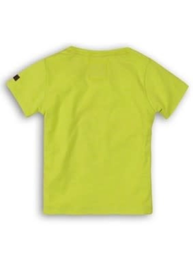 Baby Shirtje Neon Lime