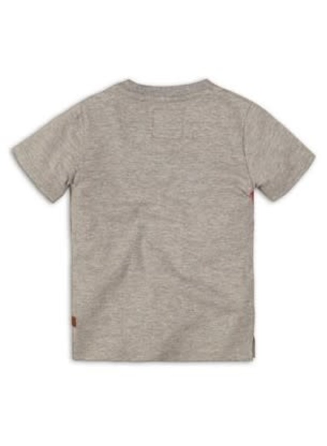 Baby Shirtje Grey Meley