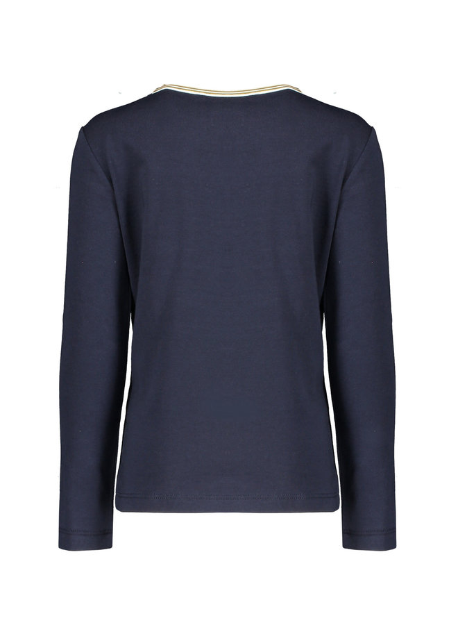 KusC  Shirt Believe Artwork Navy Blazer