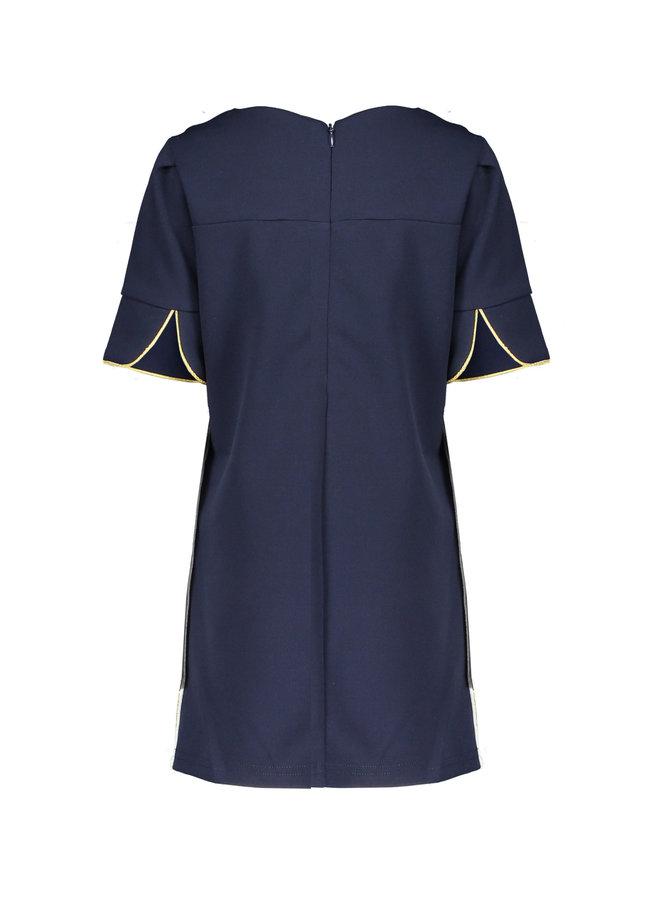 Mulan Jurk Navy Blazer
