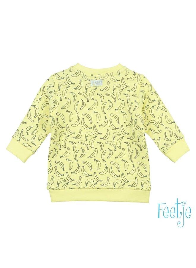 Go Bananas Sweater Geel