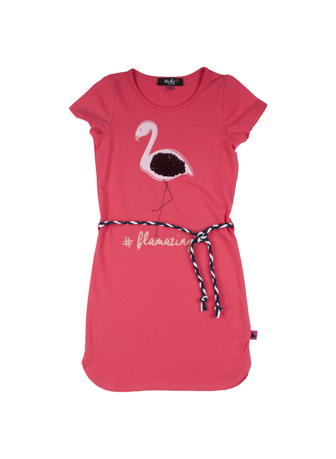 Jurk Flamingo Red