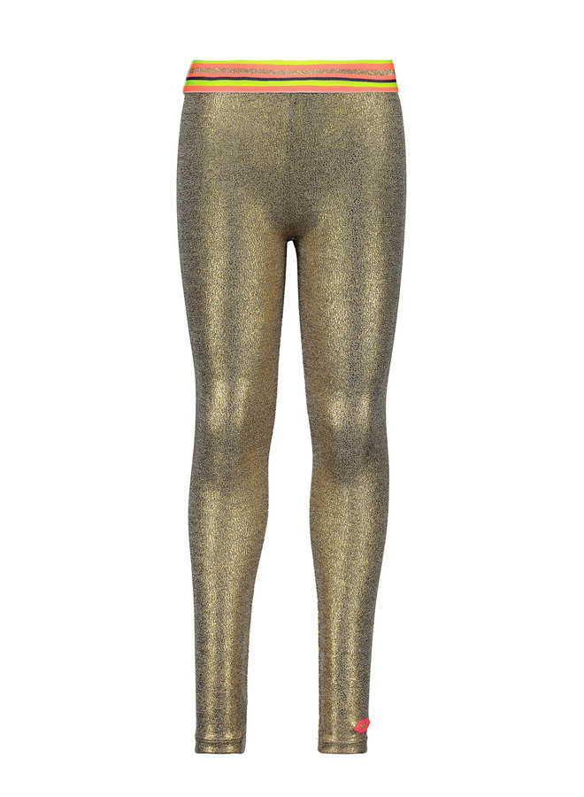 Legging Coated Gold