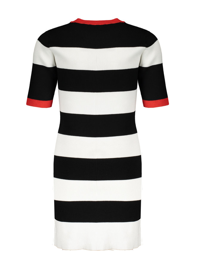 May Dress Knitted Jet Black