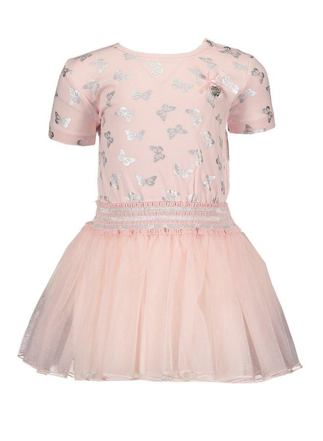 Dress Petticoat Butterflies Pretty Pink