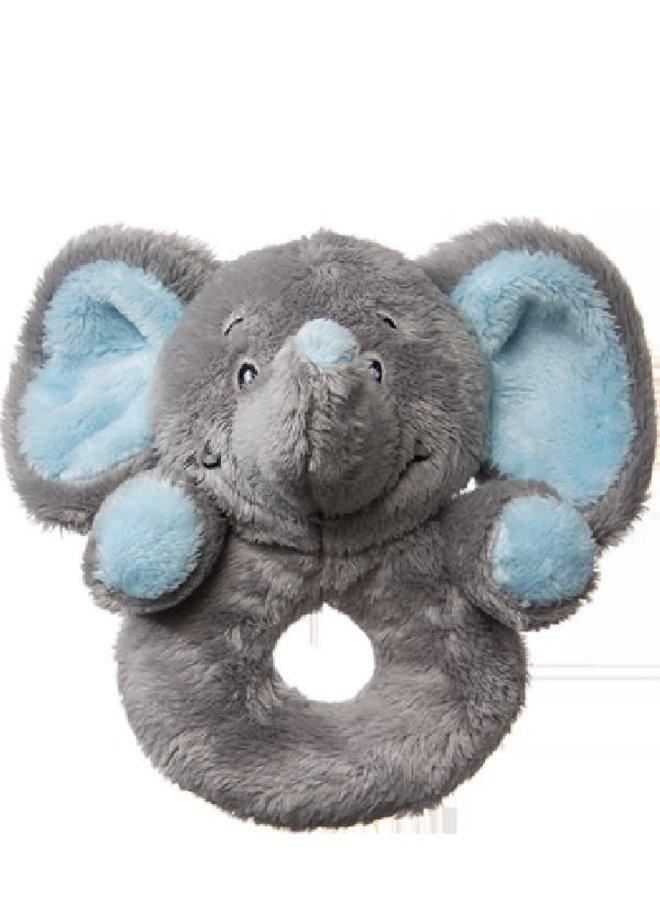 Ring Rammelaar olifant Blauw